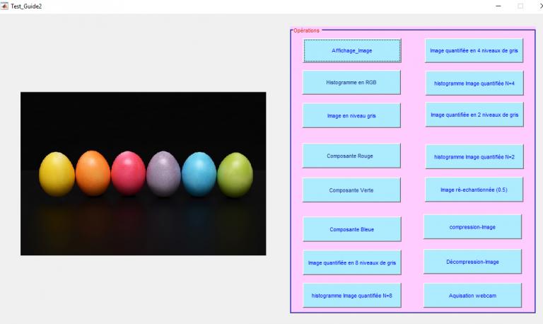 image processing matlab :afficher image couleur matlab : Traitement d'image Matlab tutorial