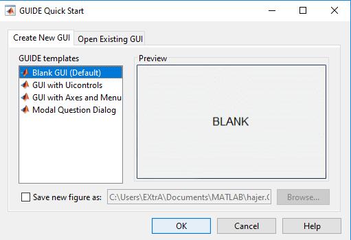 GUI Interface Matlab Tutorial