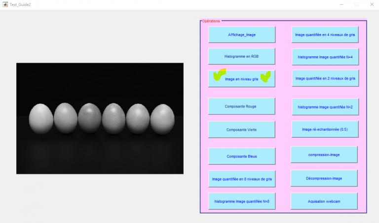 image processing matlab : convertir une image couleur en niveau de gris matlab