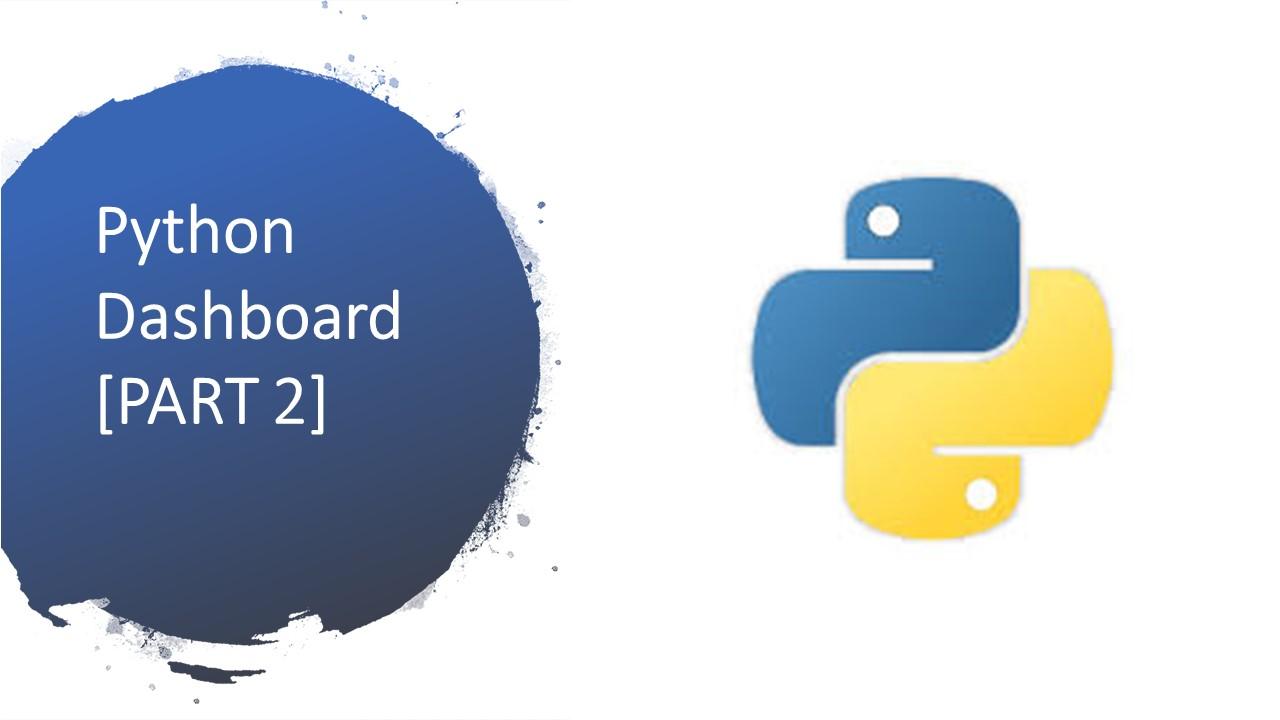 python dashboard PLOTLY