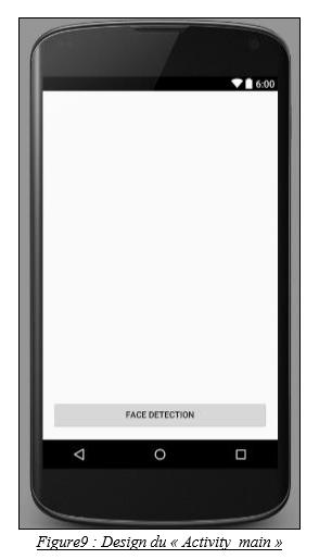 Design du « Activity_main »