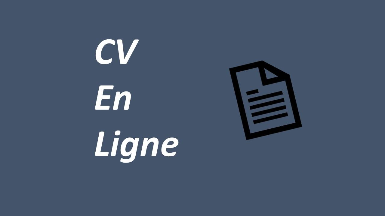 Site de création CV  En Ligne