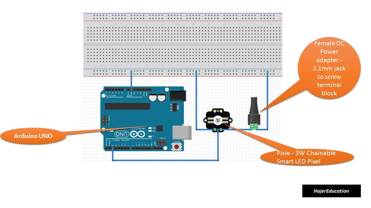 Arduino RGB LED : Arduino Pixie Tutorial