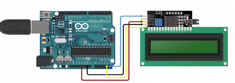 Comment brocher et coder Arduino UNO avec des différents types des  LCD