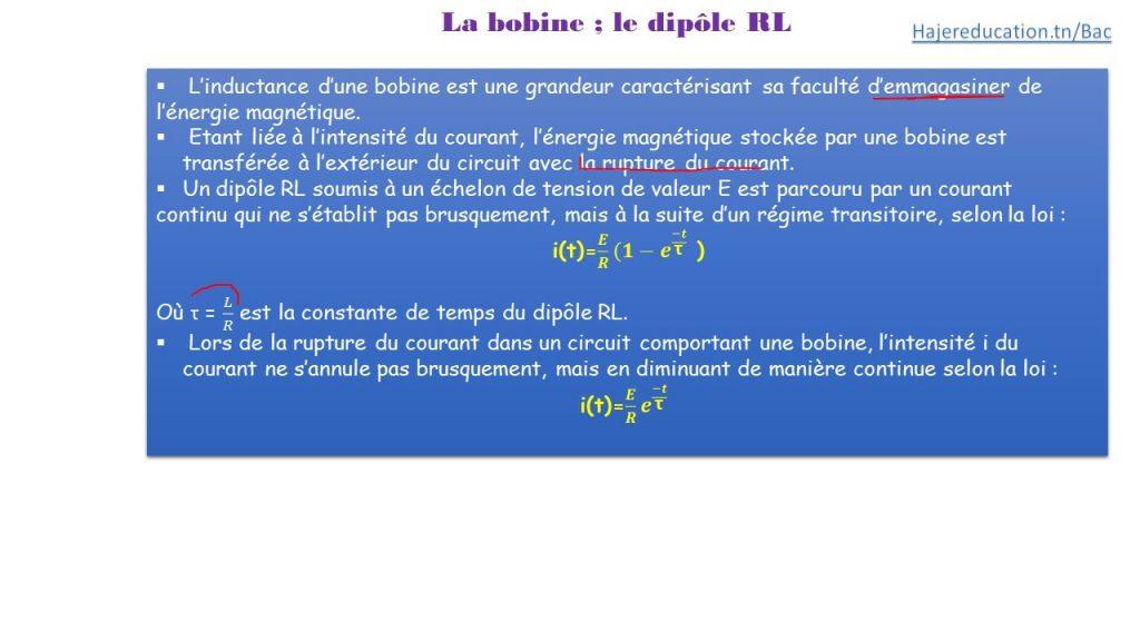 HAJEREDUCATION COURS DIPOLE RL