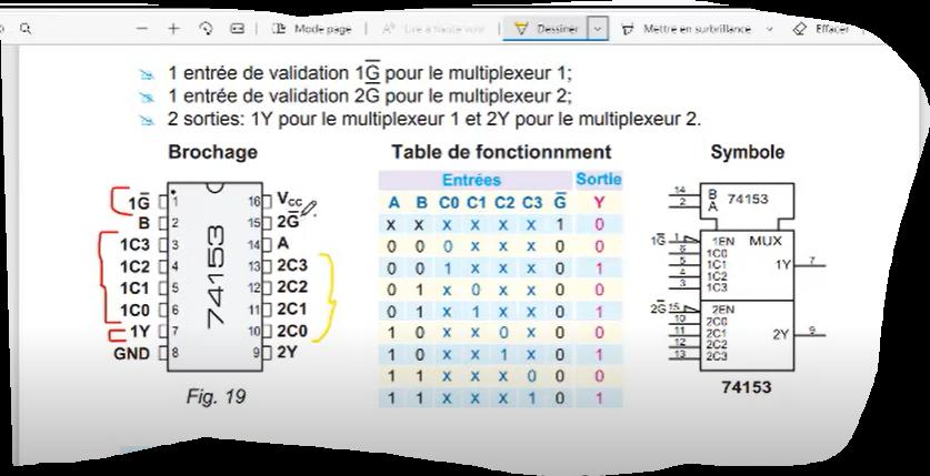 multiplexeur Logique combinatoire cours ( Partie 3 ) شرح