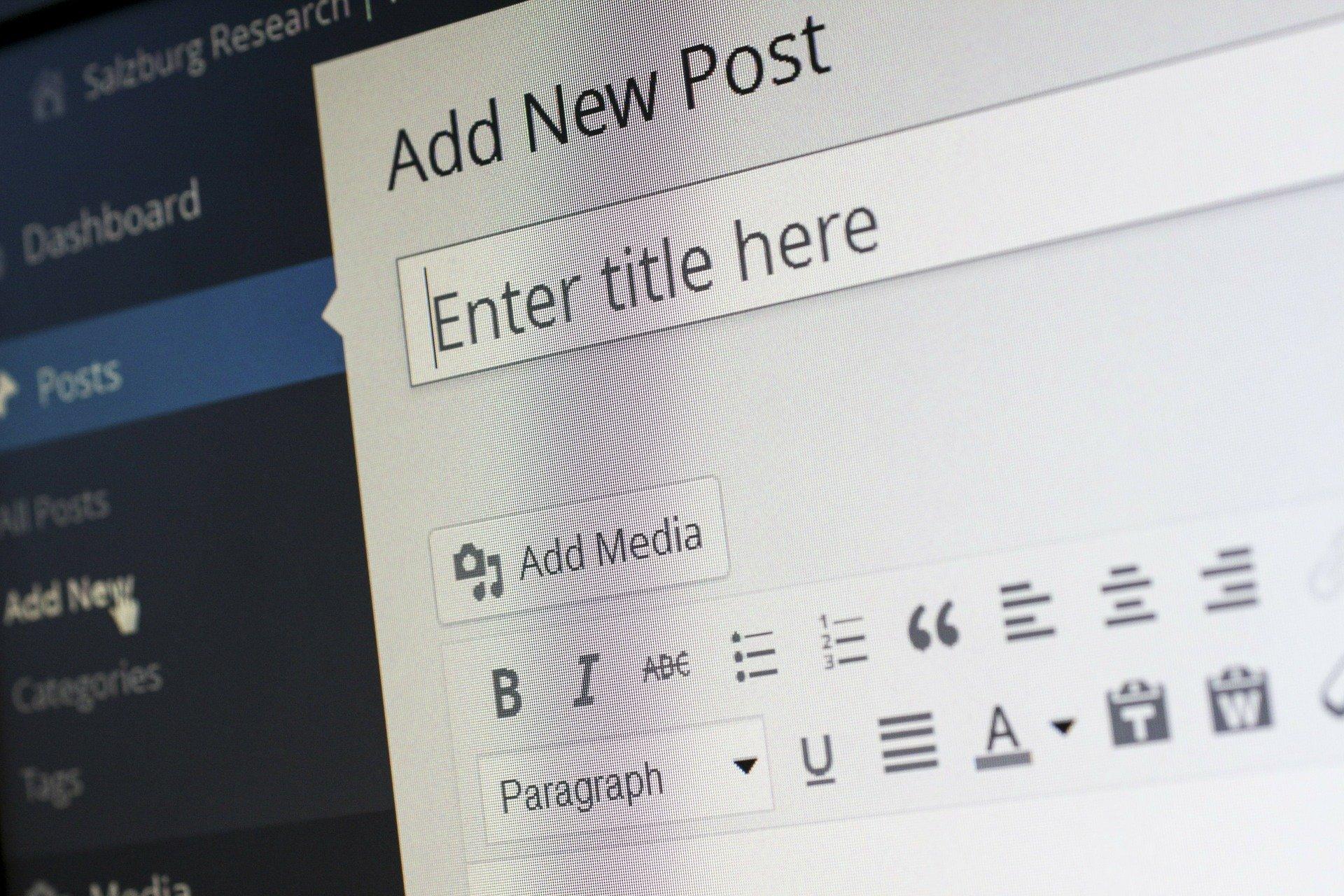 sauvegarde wordpress